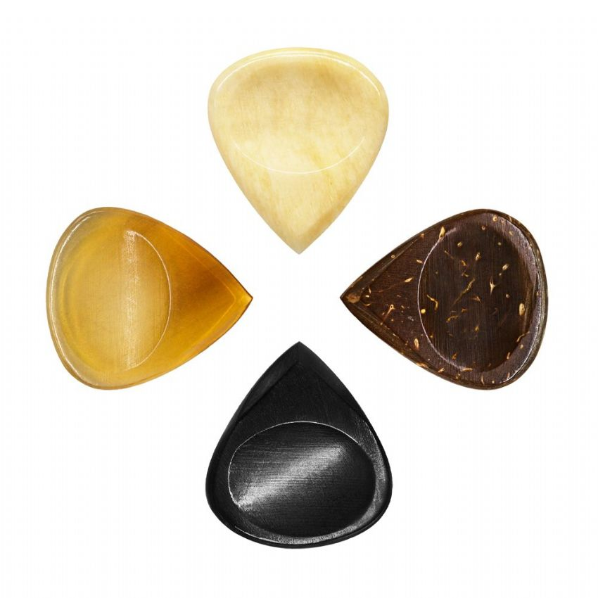 Jazz Tones Groove - Pack of 4 Guitar Picks | Timber Tones